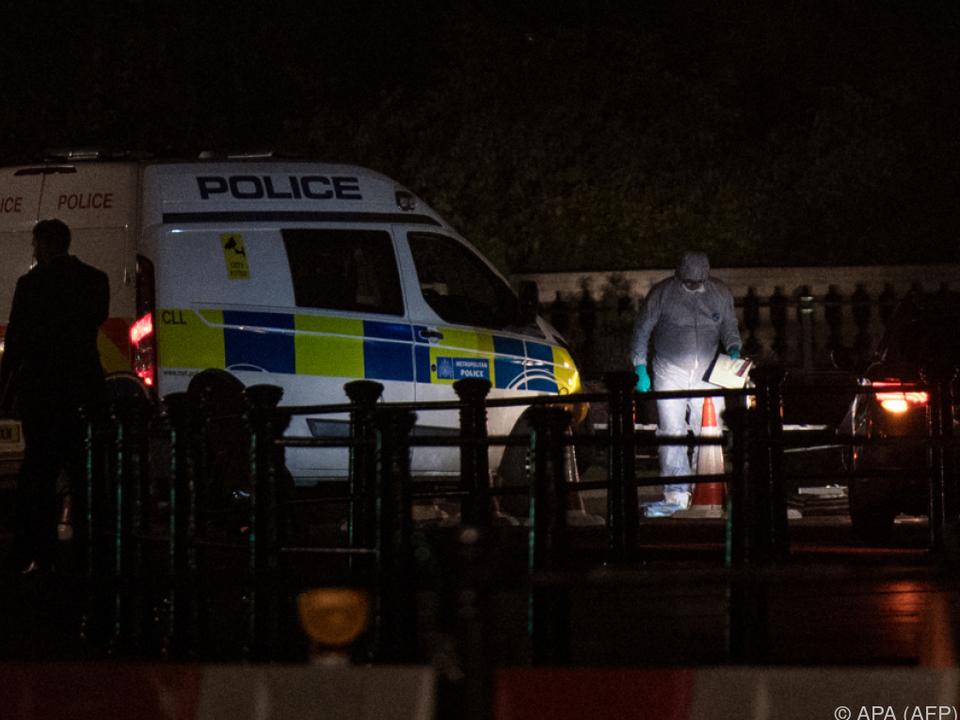 Ermittlungen wegen Terrorismus nach Zwischenfall vor Buckingham-Palast