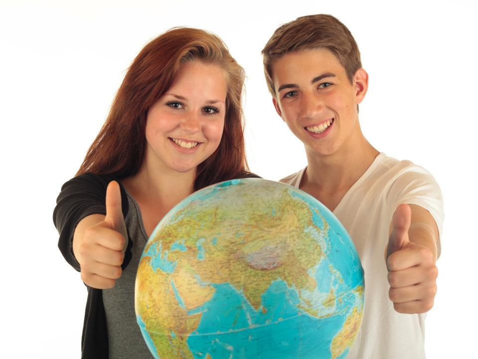 Jugend Politik Welt Globus