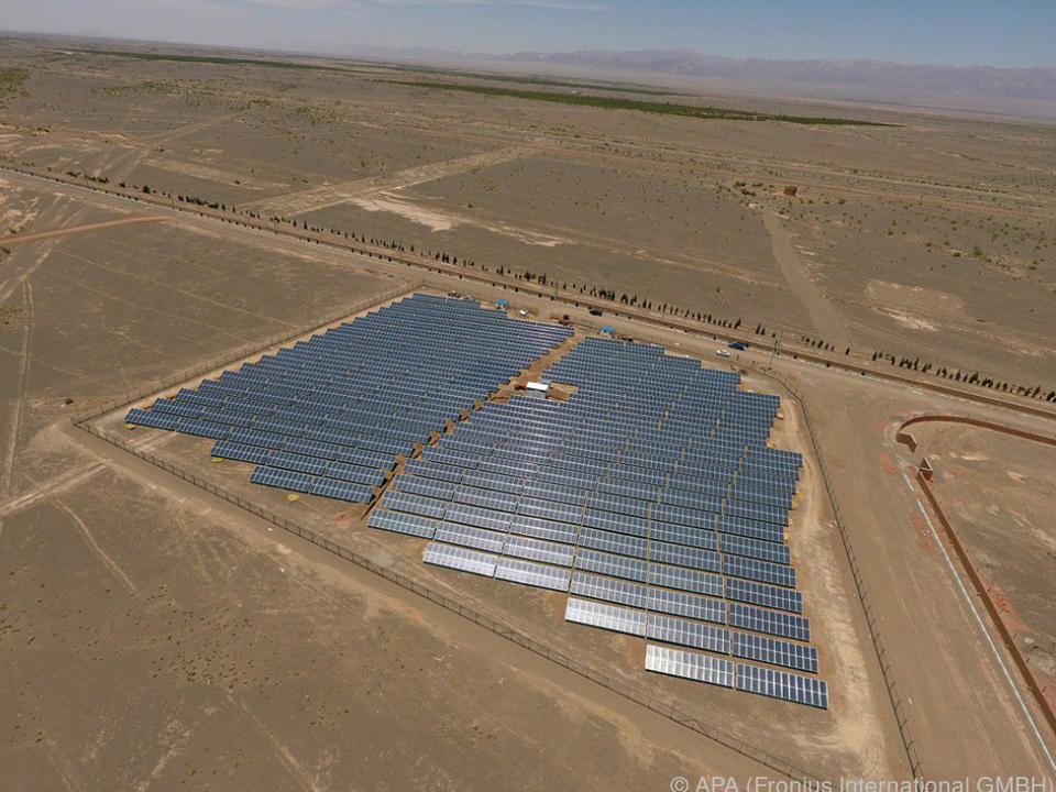 Für Solarenergie-Gewinnung ist im Iran viel Platz