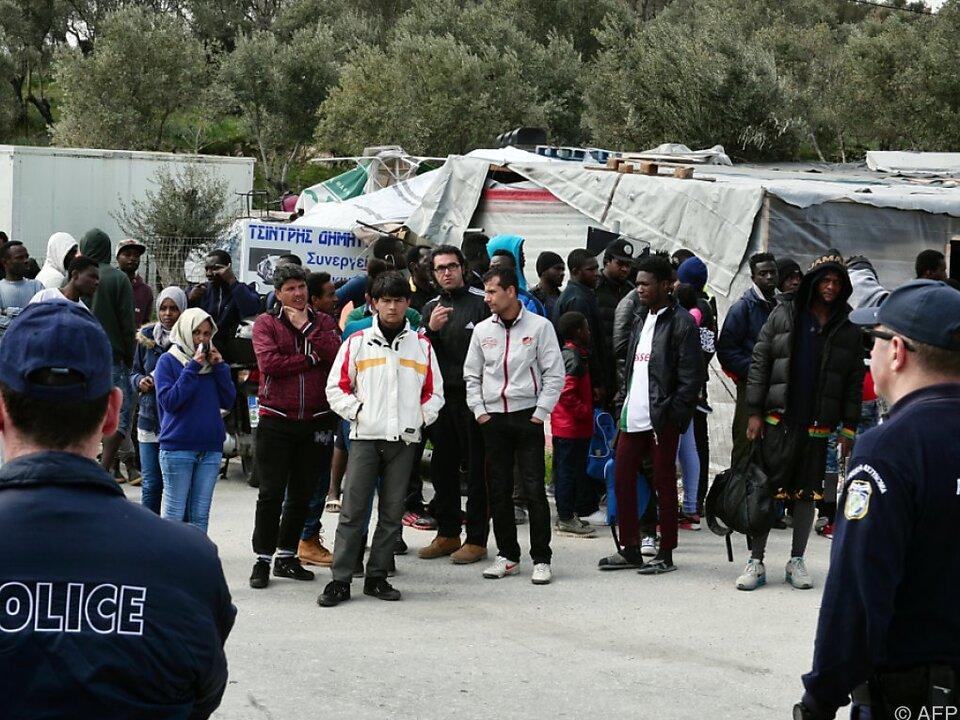 Für viele Menschen gibt es keine Chance auf legales Asyl