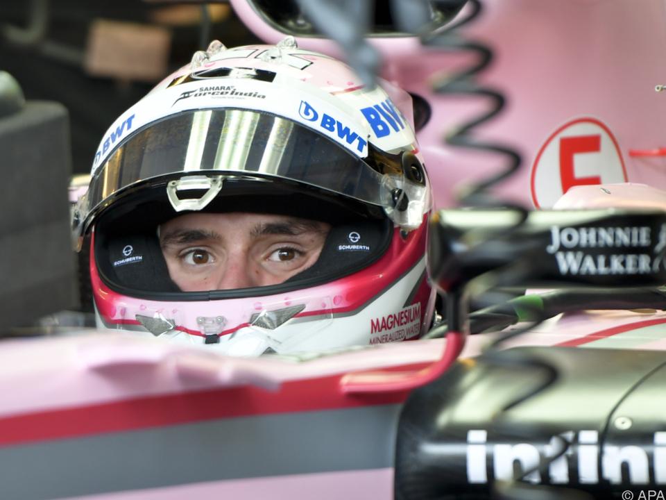 Gelungener Einstand für Auer im F1-Boliden