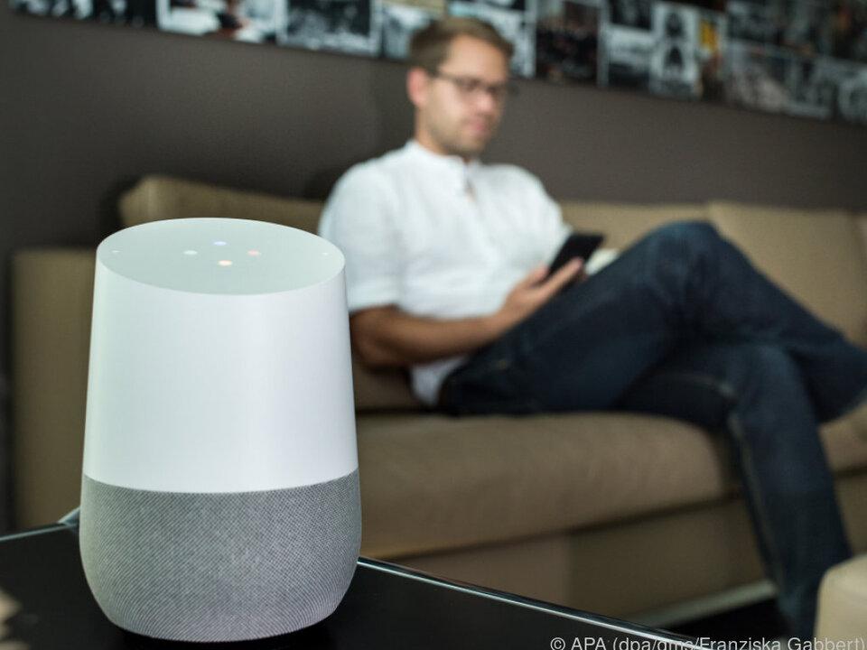 Google Home ist eine vernetzte Box mit vielen Fähigkeiten