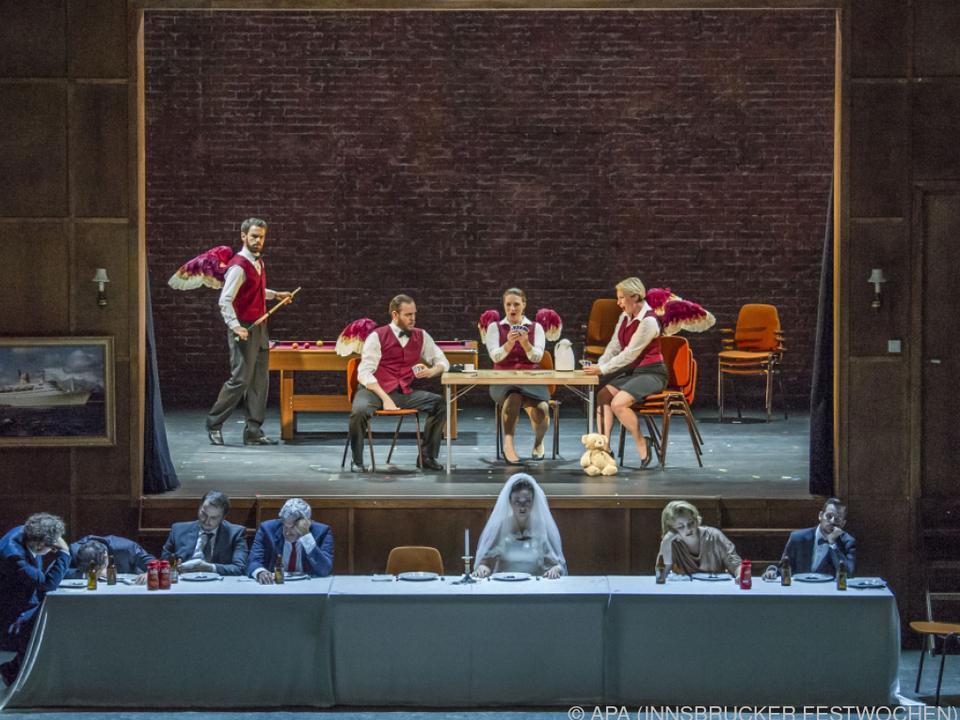Heuer gab es drei szenische Produktionen sowie eine Oper für Kinder