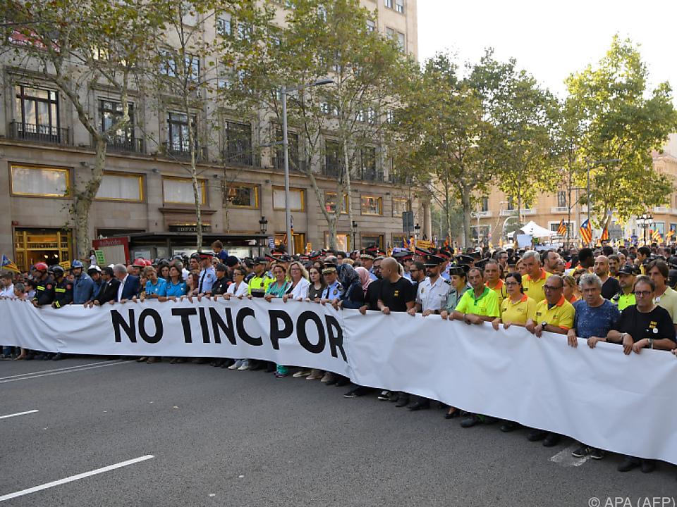 Hunderttausende setzten am Samstag ein Zeichen gegen den Terror