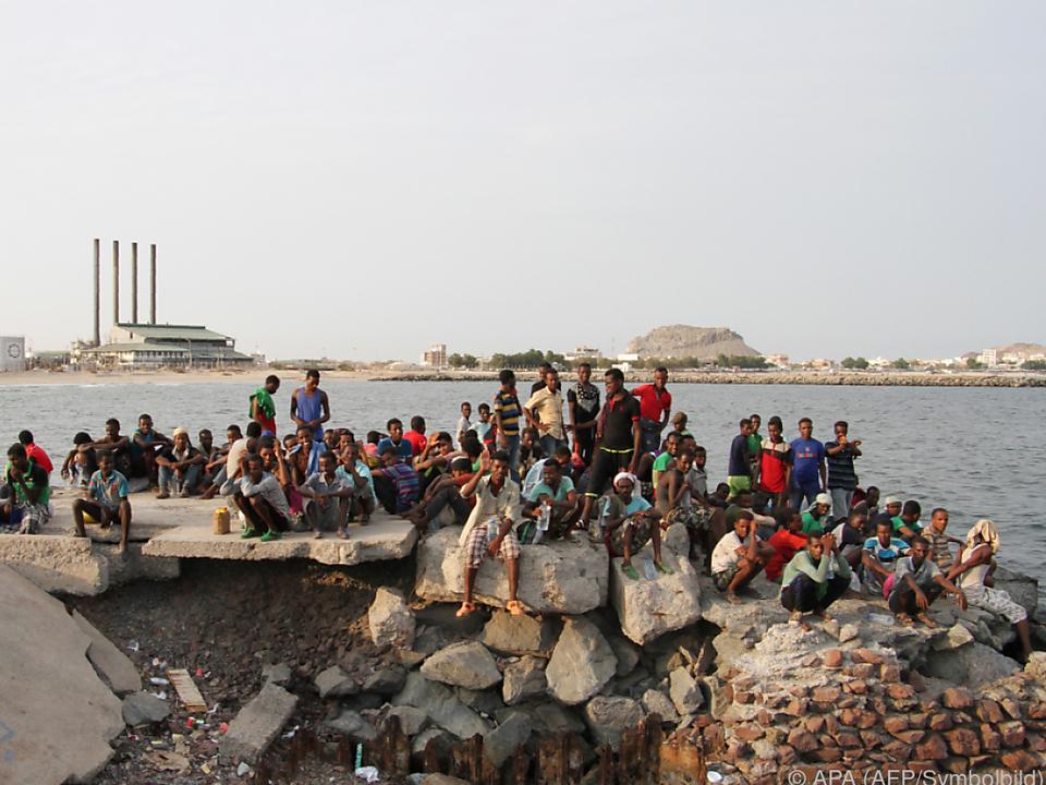 Immer mehr Jemeniten fliehen