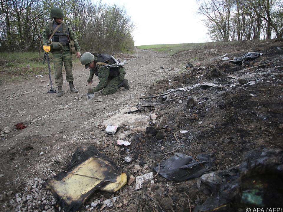 In der Ostukraine kommt es immer wieder zu Unruhen