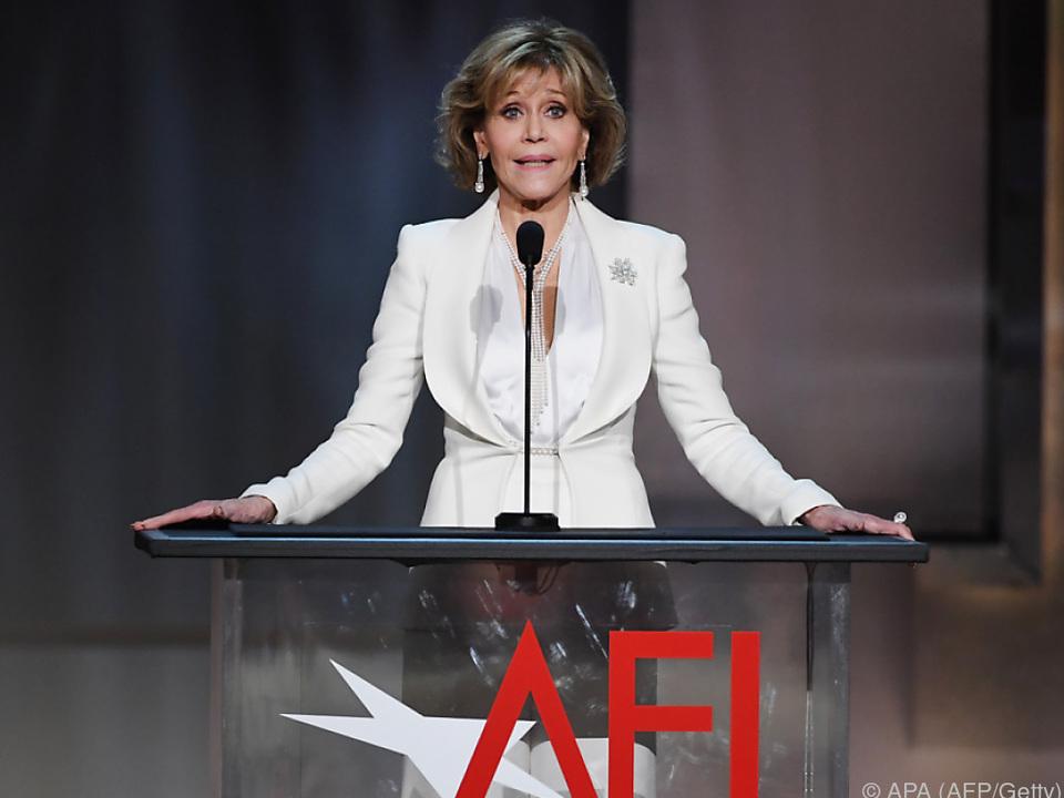 Jane Fonda drehte wieder mit Robert Redford