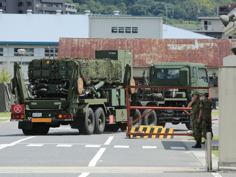 Japan stärkt seine Verteidigung