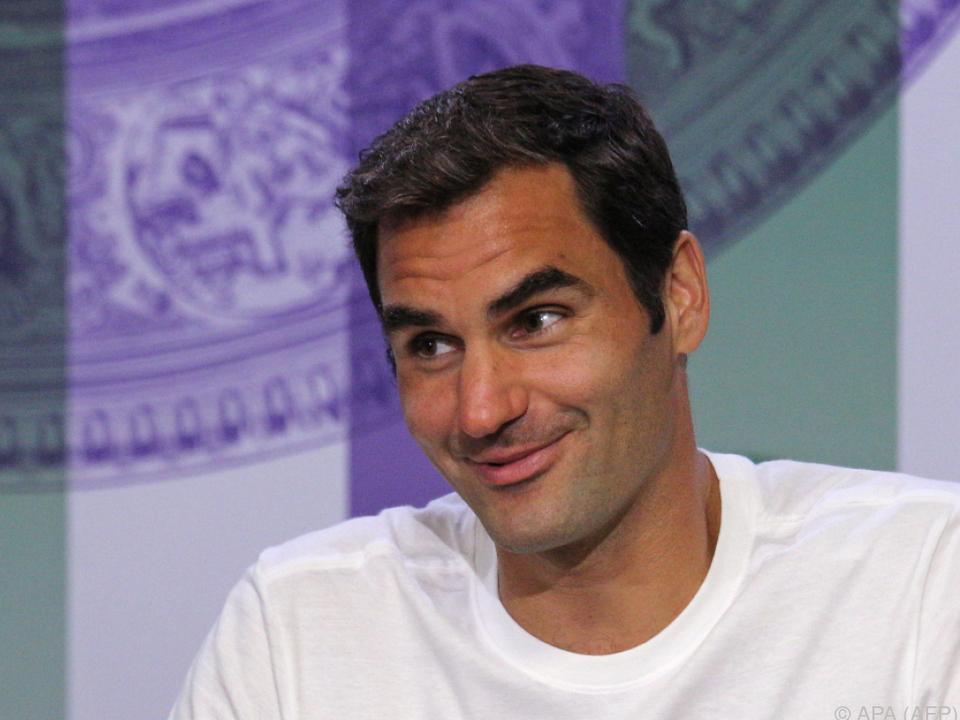 Klare Angelegenheit für Roger Federer