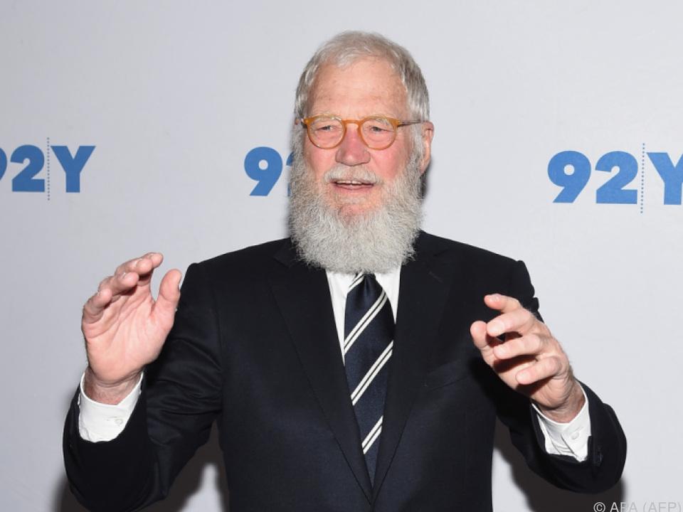 Letterman geht wieder auf \