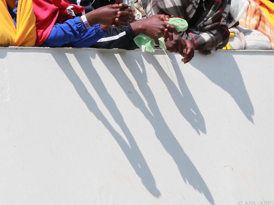 Libyen ist eines der Haupttransitländer für Flüchtlinge