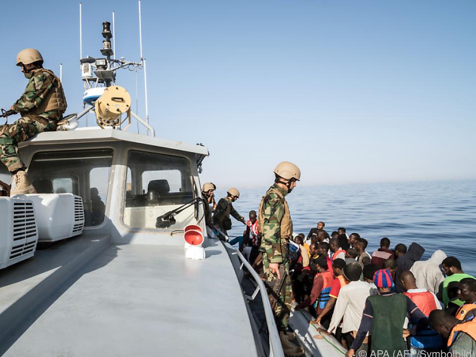Libysche Küstenwache erhält Unterstützung