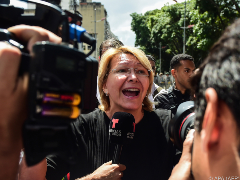 Luisa Ortega hatte Präsident Maduro zuletzt kritisiert