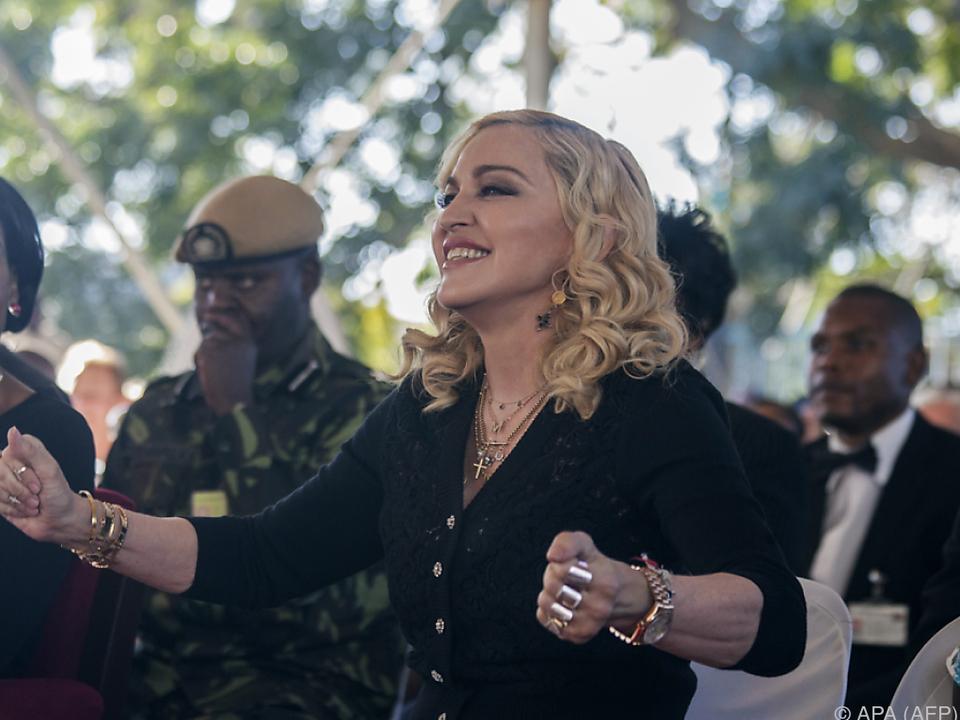 Madonna unterstützt ihre Kinder