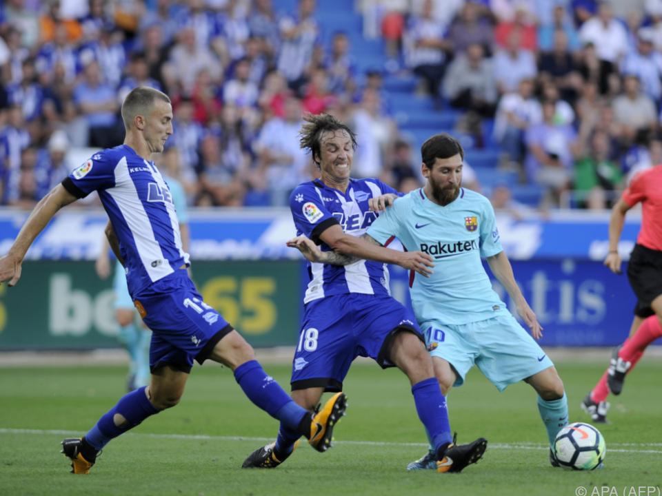 Messi geht derzeit nicht alles wie gewünscht von der Hand