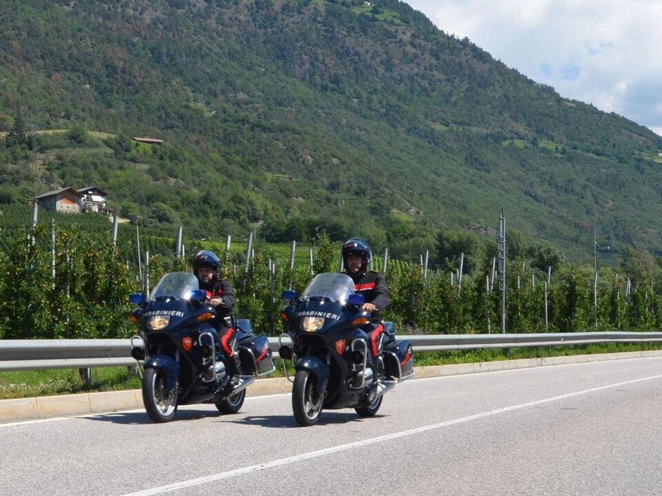 motorrad carabinieri