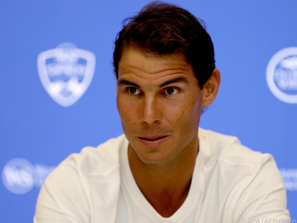 Nadal ist erfreut über die Rückkehr auf die Nummer eins