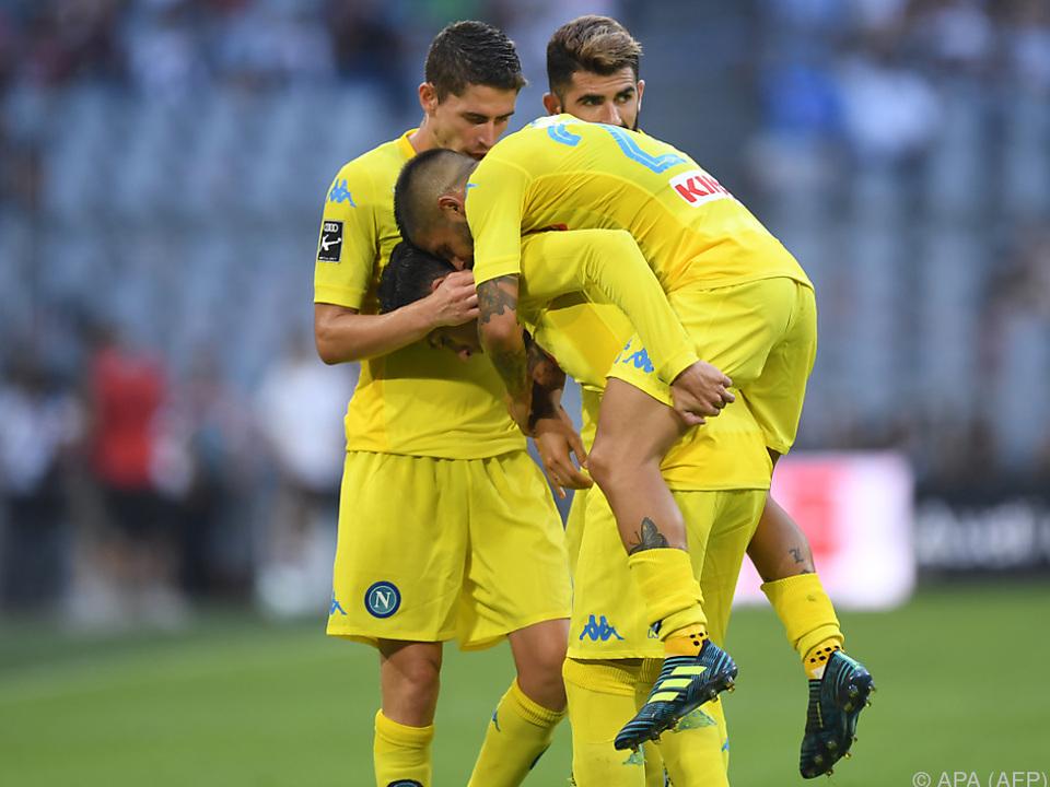 Napoli möchte wieder in der Champions League spielen
