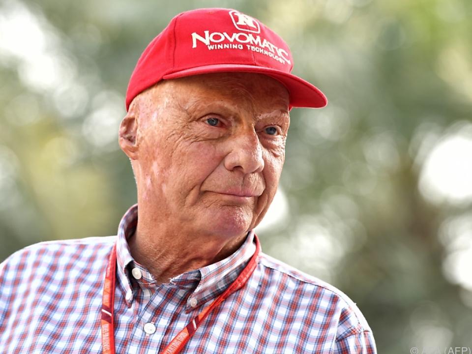 Niki Lauda hat am Dienstag Termin bei Insolvenzverwalter