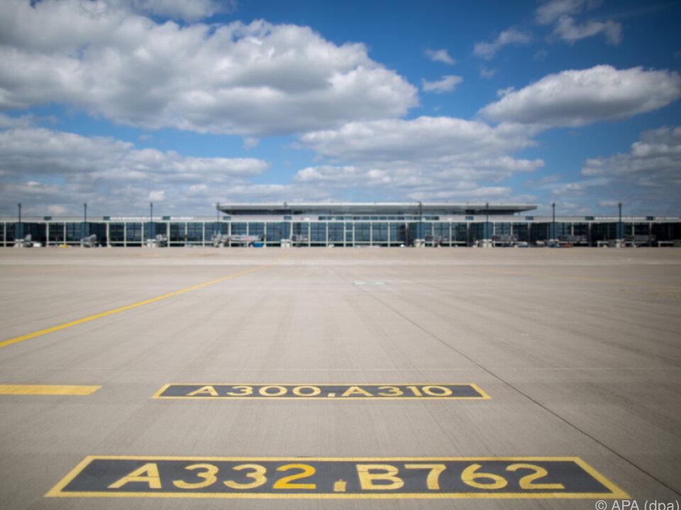 Noch immer Baustelle: Flughafen Berlin Brandenburg