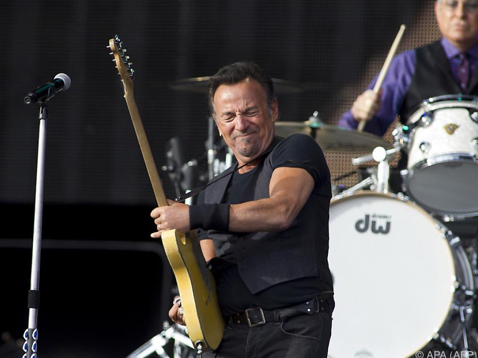 Normalerweise füllt Springsteen ganze Stadien