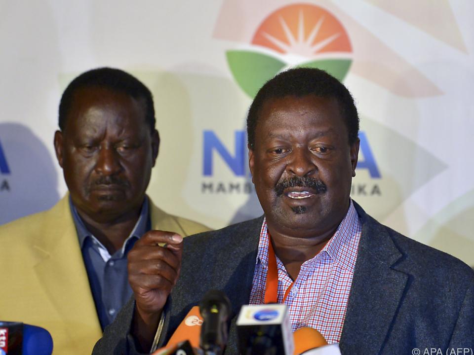 Odinga betrachtet sich als Sieger