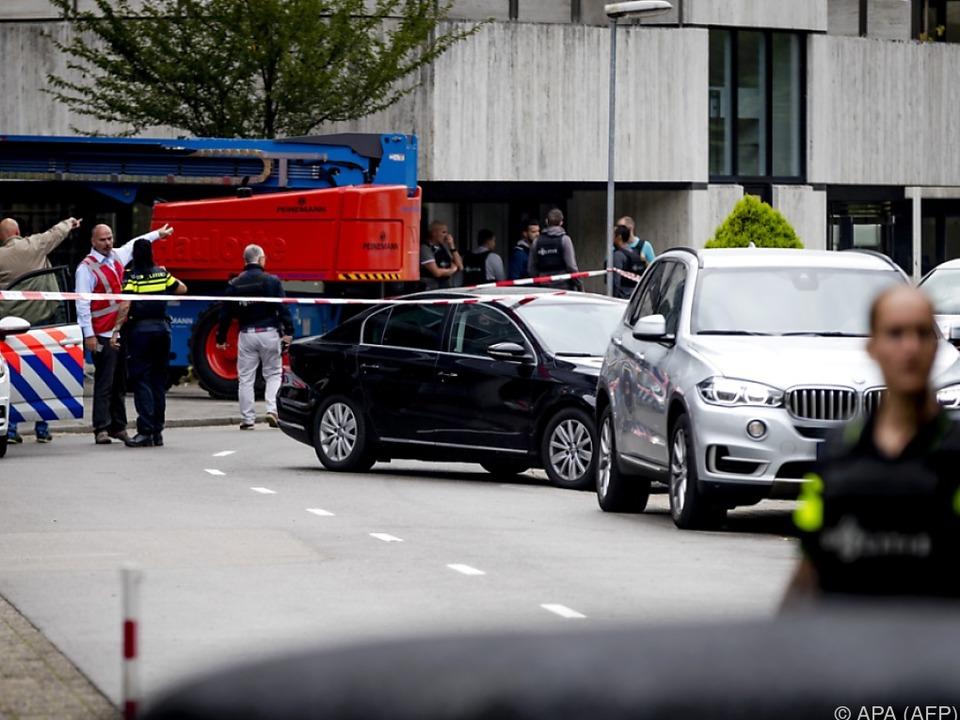 Geiselnehmer in Holland festgenommen - Frau unverletzt