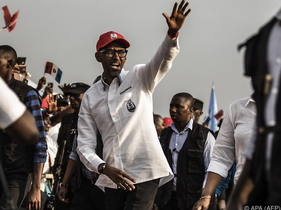 Präsident Kagame schränkt Meinungsfreiheit stark ein
