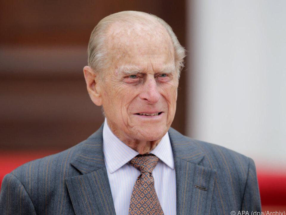 Prinz Philip ist der dienstälteste britische Prinzgemahl