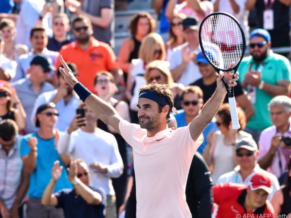 Roger Federer hat einen Lauf