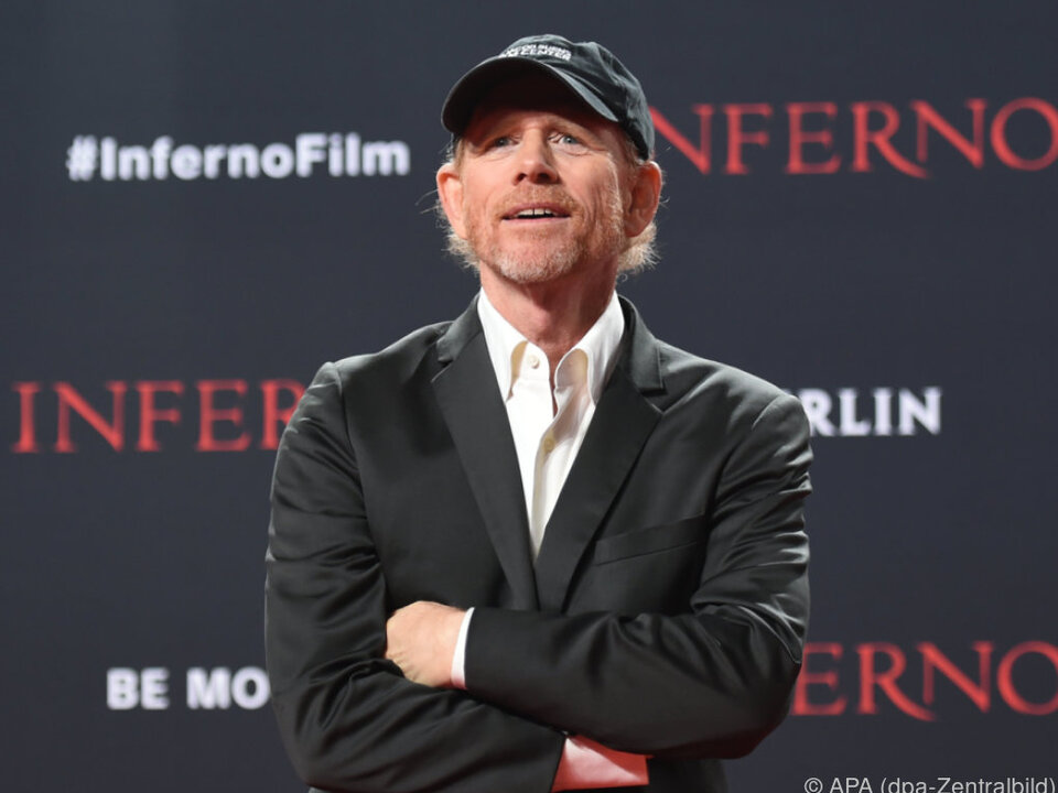 Ron Howard hält die \