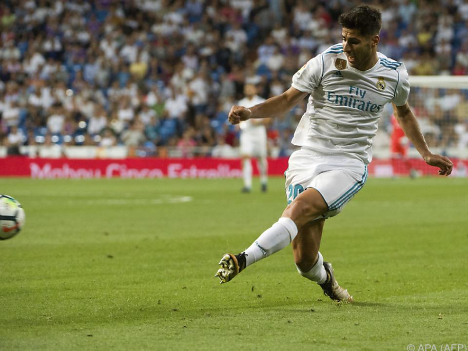 Ronaldo-Ersatz Asensio erzielte das 1:0