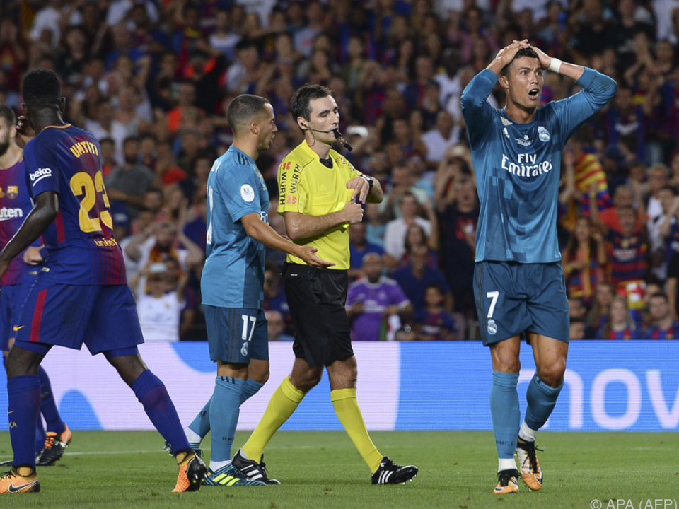 Ronaldo muss noch drei Spiele pausieren