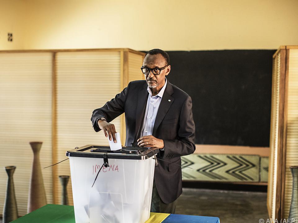 Rund 98 Prozent der abgegebenen Stimmen entfielen auf Kagame