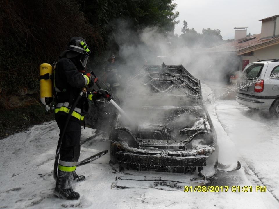Fahrzeugbrand Schenna
