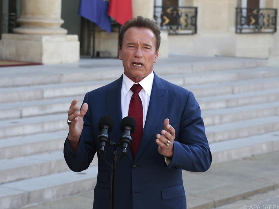Schwarzenegger richtete sich mit klaren Worten an Rechtsextreme