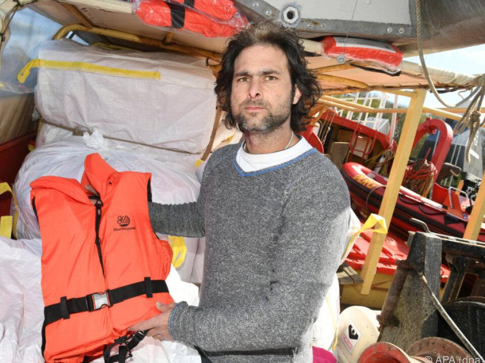 Sea Eye-Initiator Buschheuer zieht sich zurück