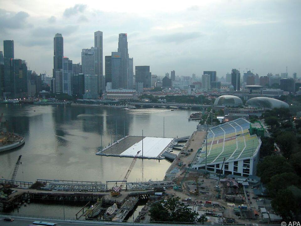 Singapur führt das Ranking an