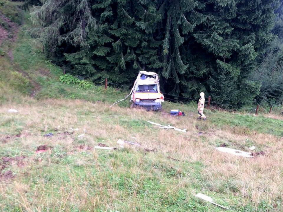 Tödlicher Unfall mit dem Rettungswagen