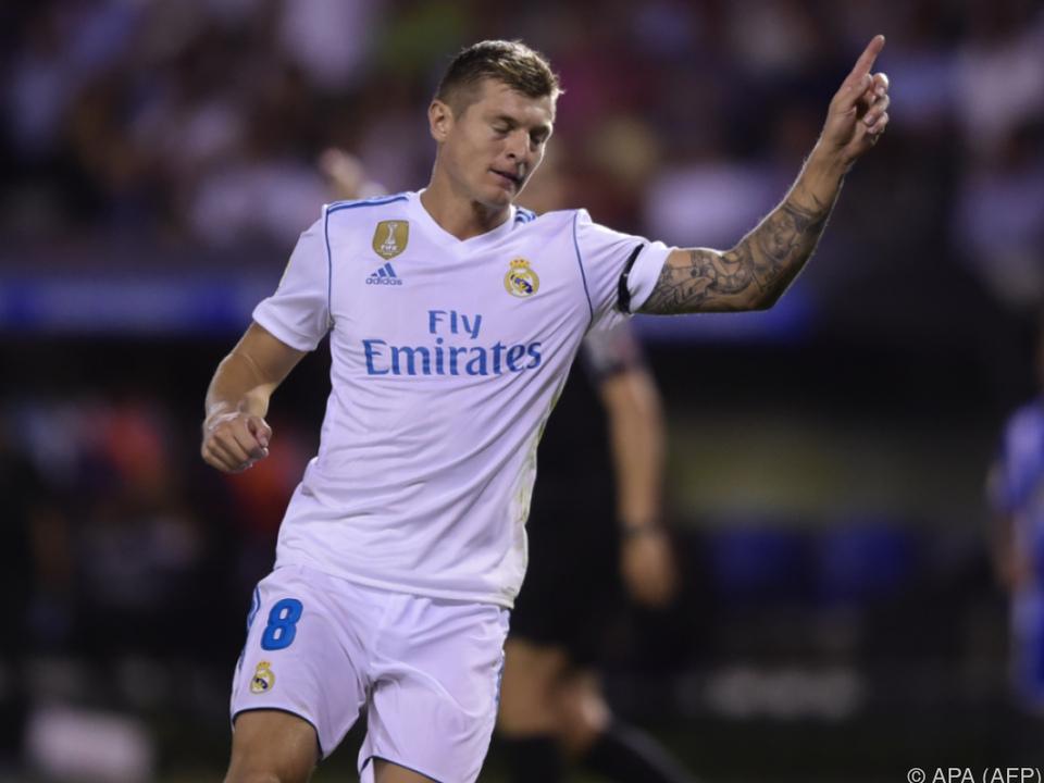 Toni Kroos sorgte für den Endstand