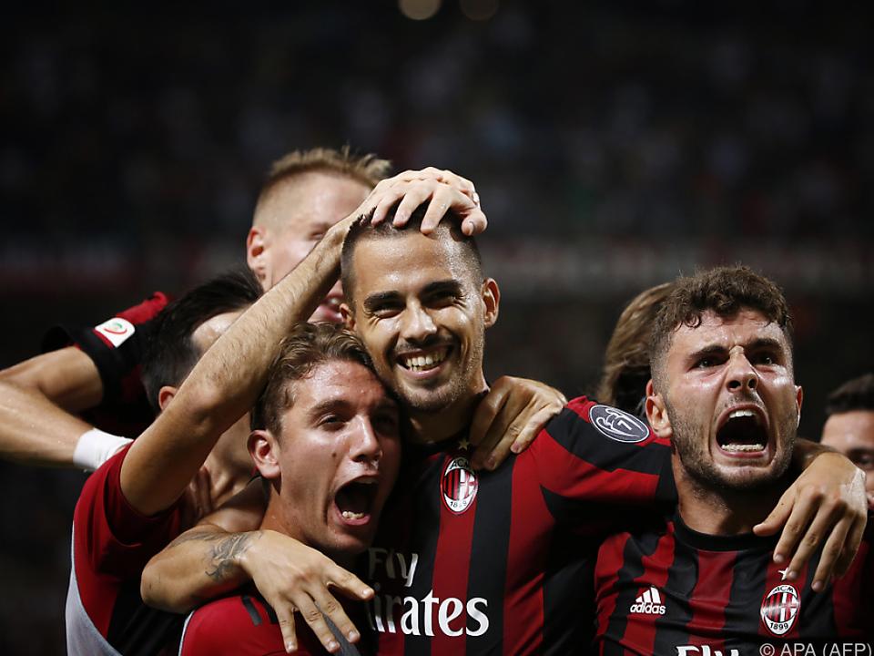 Torjubel beim AC Milan
