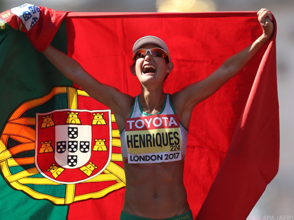 Triumph der Portugiesin