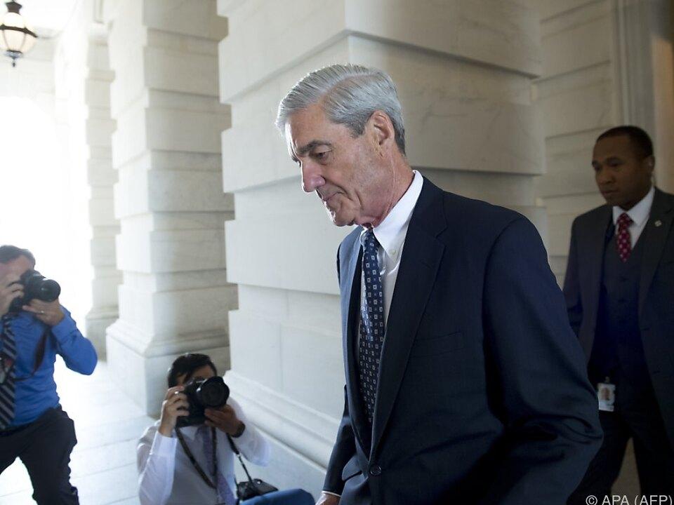 Überparteiliche Initiative soll Mueller vor Entlassung schützen