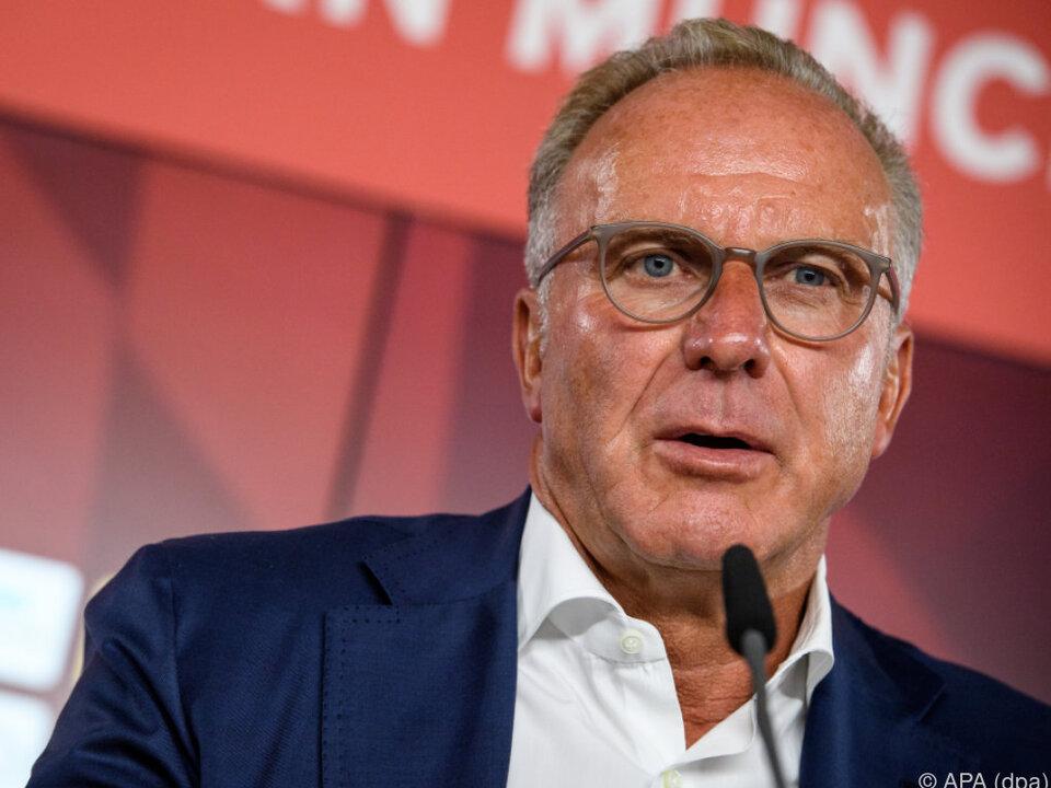 Überraschender Rückzug Karl-Heinz Rummenigge