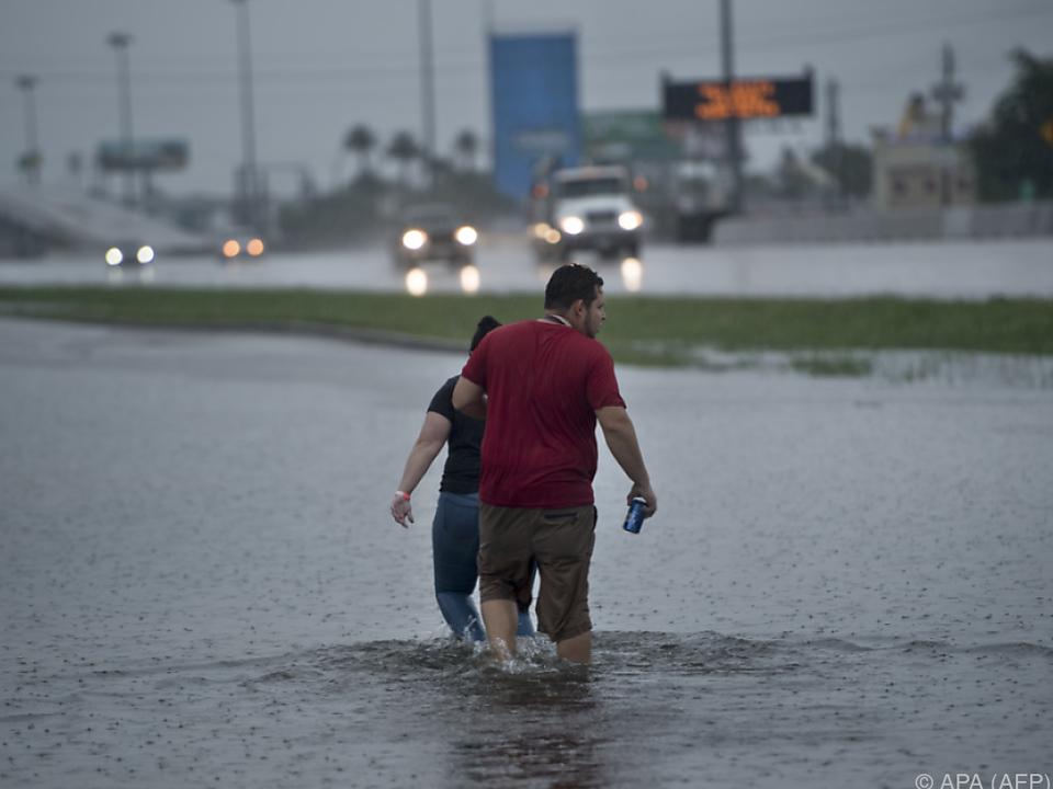 Überschwemmungen in der Millionenstadt Houston