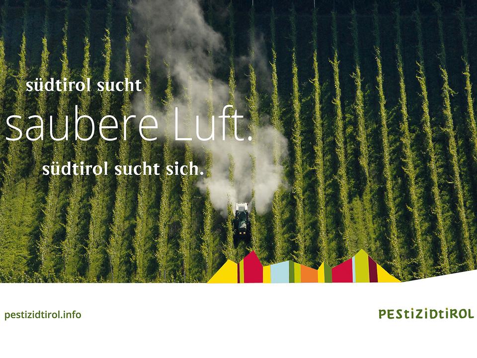 Anti-Pestizid-Werbung