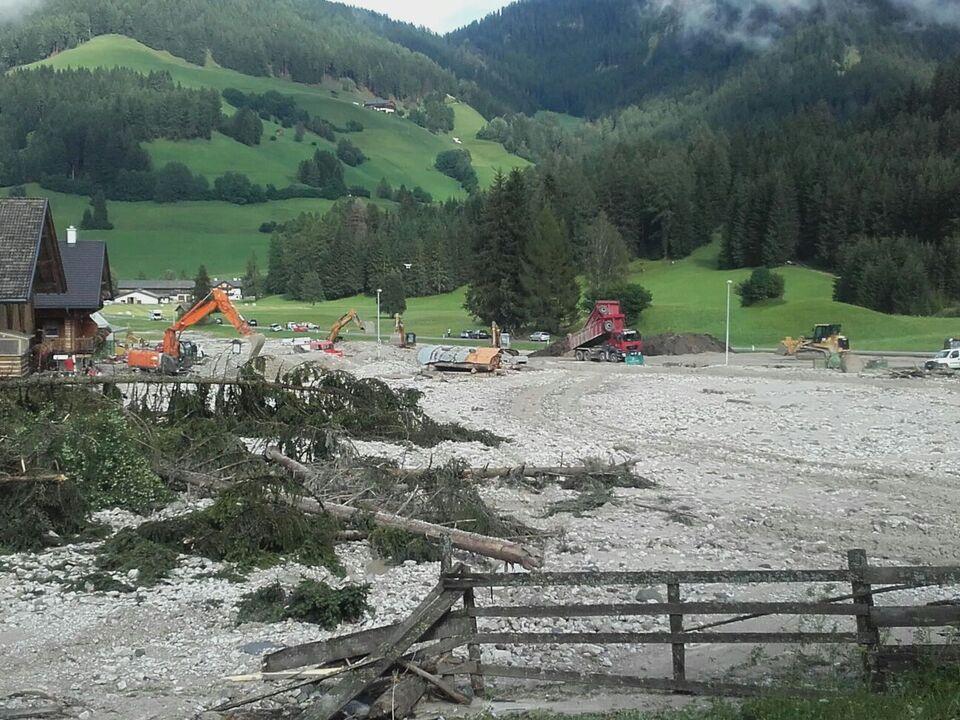 Unwetter Südtirol
