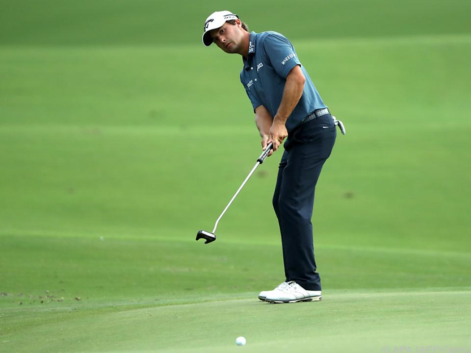 US-Golfprofi Kevin Kisner liegt in Führung