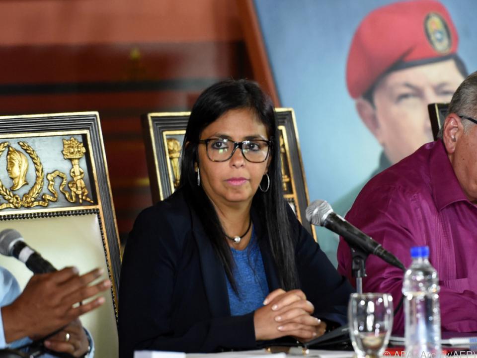 Versammlungs-Vorsitzende Rodriguez gehörte zu den Eindringlingen