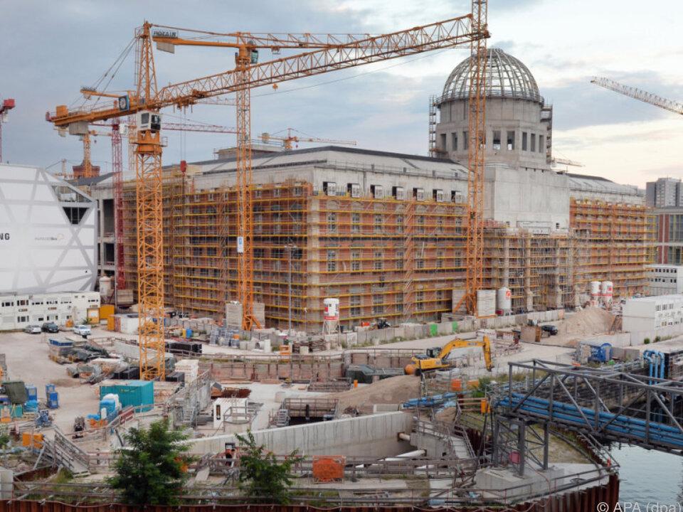 Verzögerungen beim Bau des Berliner Schlosses